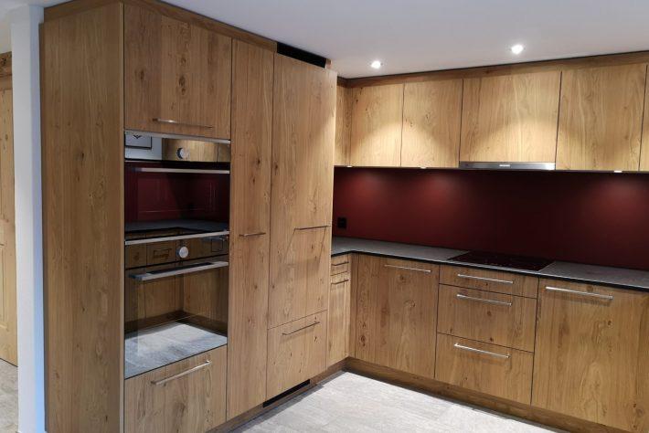 Küche Holz Eiche rustikal